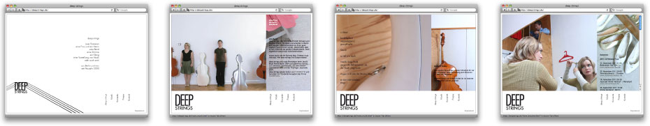 deepstrings Website